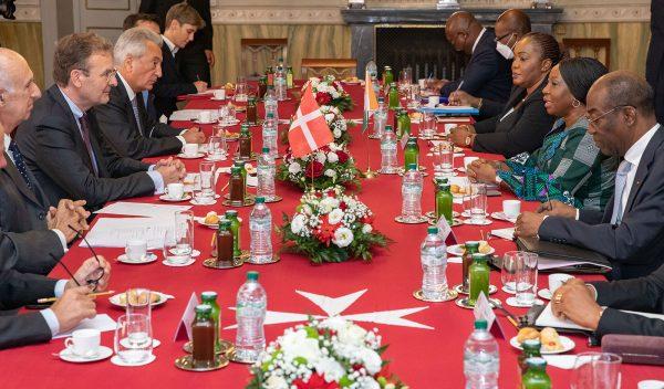 Ministra di Stato Costa Avorio Ordine di Malta